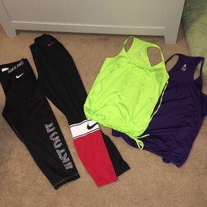 Gym clothing bundle